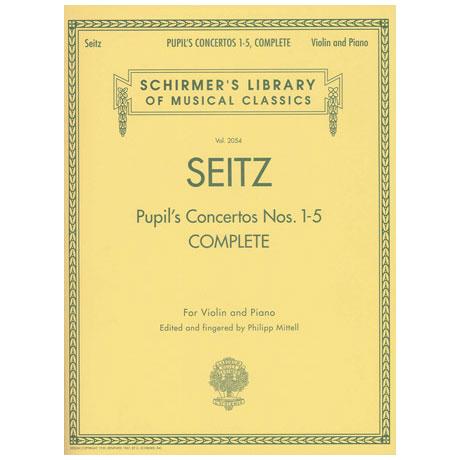 Seitz, F.: Schülerkonzerte Nr. 1-5