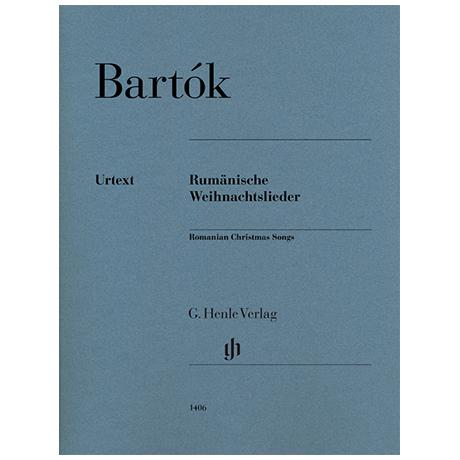 Bartók, B.: Rumänische Weihnachtslieder
