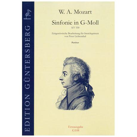 Mozart, W. A.: Sinfonie in G-Moll KV 550