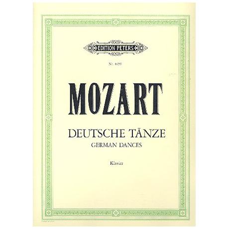 Mozart, W. A.: Deutsche Tänze KV 600, 602, 605