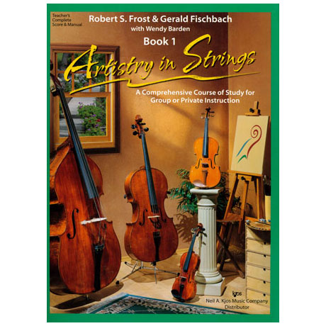 Frost/Fischbach: Artistry in Strings Band 1 (+3CDs)
