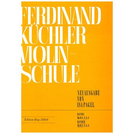 Küchler, F.: Violinschule Band 2 Teil 1