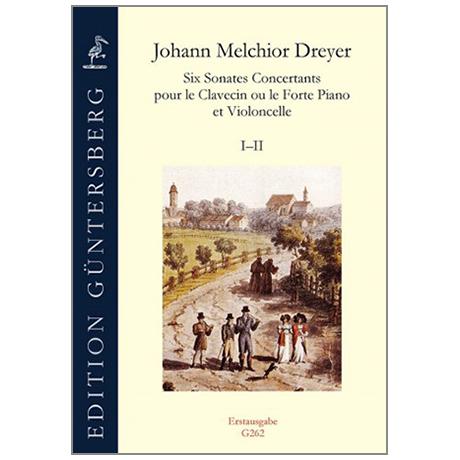 Dreyer, J.M.:  Six Sonates Concertants Vol.1