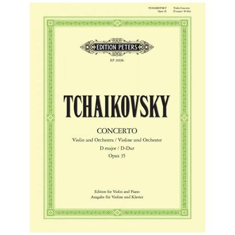 Tschaikowski, P. I.: Violinkonzert Op. 35 D-Dur (Oistrach)