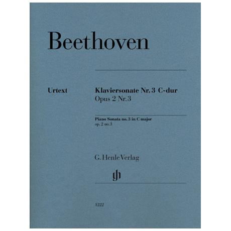 Beethoven, L. v.: Klaviersonate Nr. 3 Op. 2/3 C-Dur