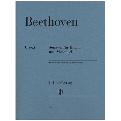 Beethoven, L. v.: Violoncellosonaten Op. 5, Op. 69, Op. 102