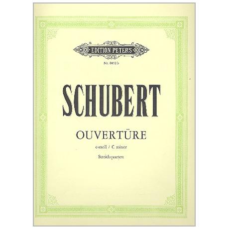 Schubert, F.: Ouvertüre D8 c-Moll
