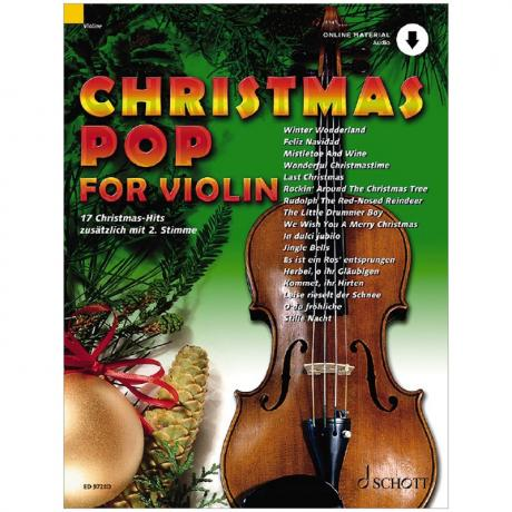 Christmas Pop for Violin (+Online Audio)