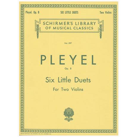 Pleyel, I. J.: Six Little Duets Op. 8