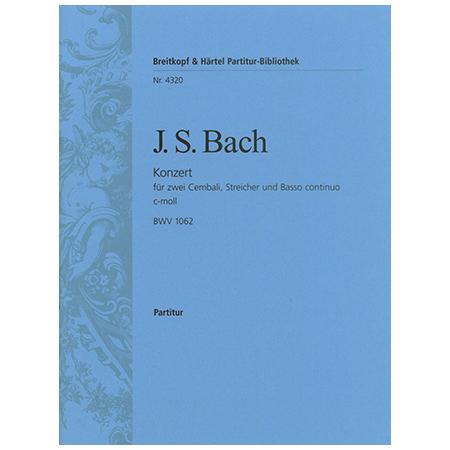 Bach, J. S.: Cembalokonzert d-Moll BWV 1063