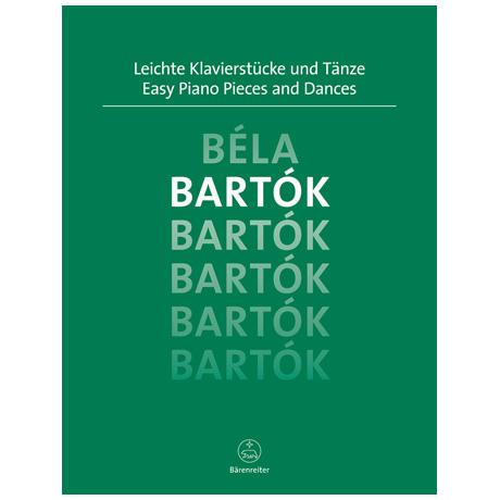 Bartók, B.: Leichte Klavierstücke und Tänze