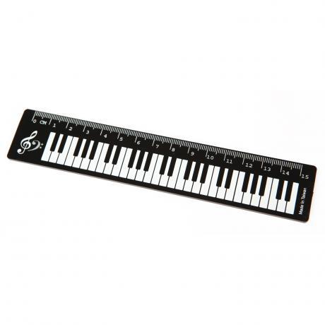 Ruler piano