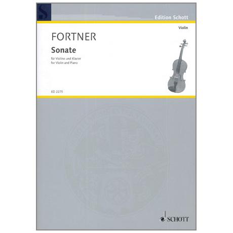 Fortner, W.: Violinsonate