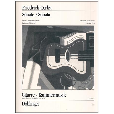 Cerha, F.: Violasonate (1951)