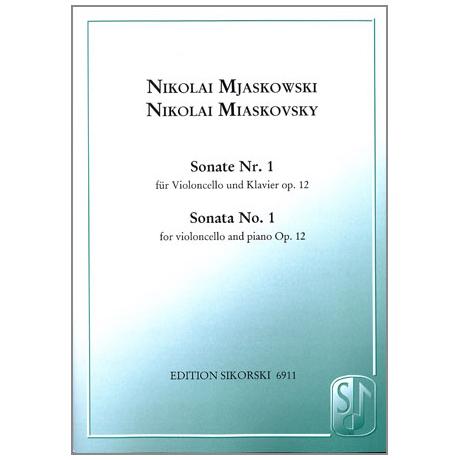 Mjaskowski, N.: Sonate Nr. 1, Op. 12