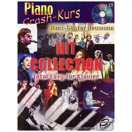 Heumann, H.-G.: Piano Crash-Kurs - Hit Collection (+ CD)