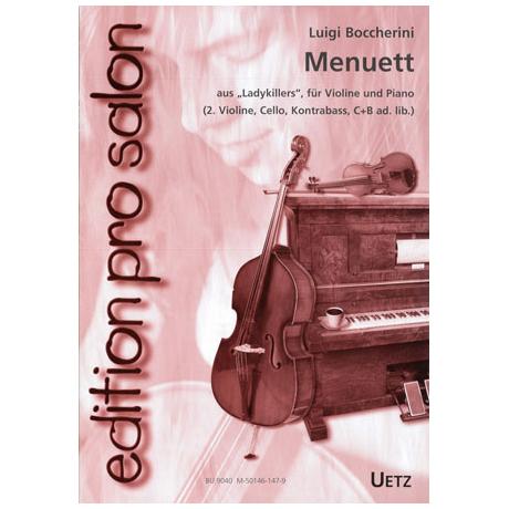 Boccherini, L.: Menuett (aus Ladykillers)