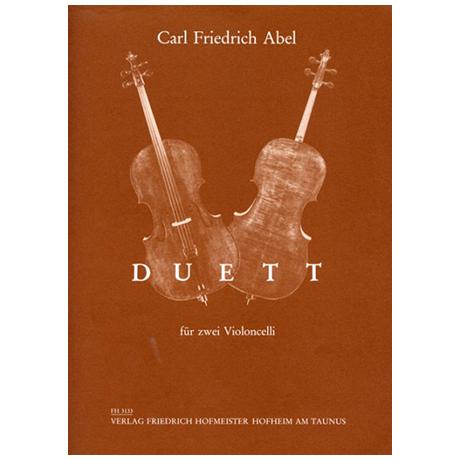 Abel, C. F.: Duett