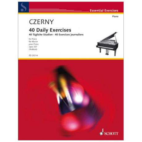 Czerny, C.: 40 Tägliche Studien Op. 337