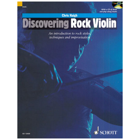 Haigh, Ch.: Discovering Rock Violin (+CD)