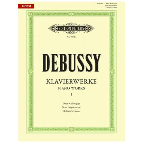 Debussy, C.: Deux Arabesques, Suite bergamasque, Children´s corner