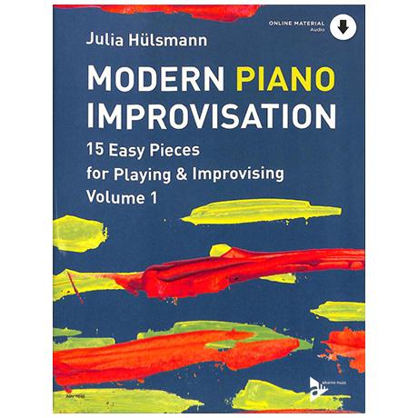 Hülsmann, J.: Modern Piano Improvisation Band 1 (mit Online Audio Material)