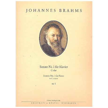 Brahms, J.: Sonate Nr. 1 C-Dur Op. 1