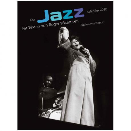 Der Jazz Kalender 2020 mit Texten von Roger Willemsen