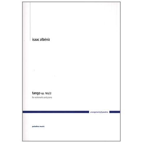 Albéniz, I.: Tango Op. 165/2