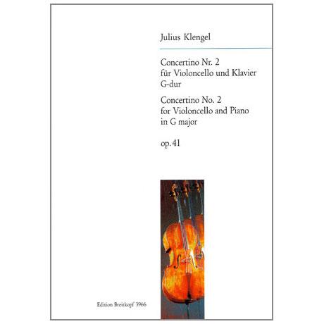 Klengel, J.: Concertino Nr. 2 Op. 41 G-Dur