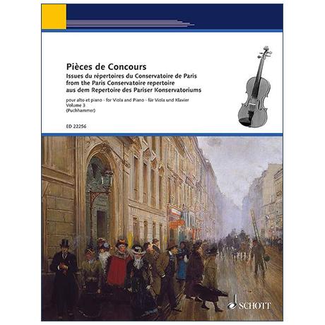 Puchhammer-Sédillot, J.: Pièces de Concours Band 3