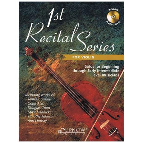 1st Recital Series (+CD)