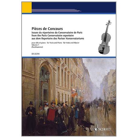 Puchhammer-Sédillot, J.: Pièces de Concours Band 1
