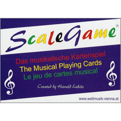 Scalegame - The Musical Playing Cards