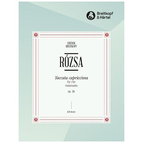 Rozsa, M.: Toccata capricciosa Op. 36