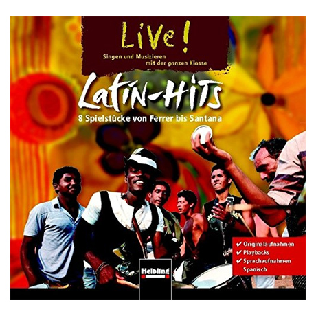 Crämer, C. J. W.: Live! Latin-Hits – CD
