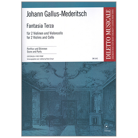 Gallus-Mederitsch, J.: Fantasia Terza