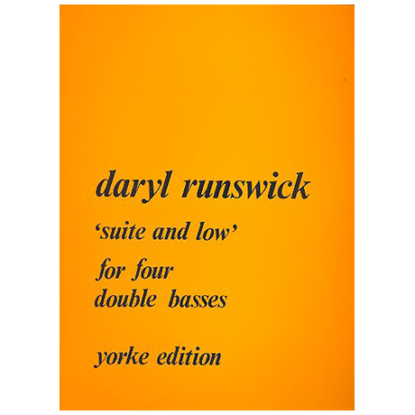 Runswick, D.: Suite and Low