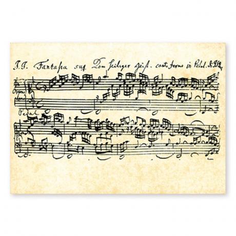 Postcard Bach