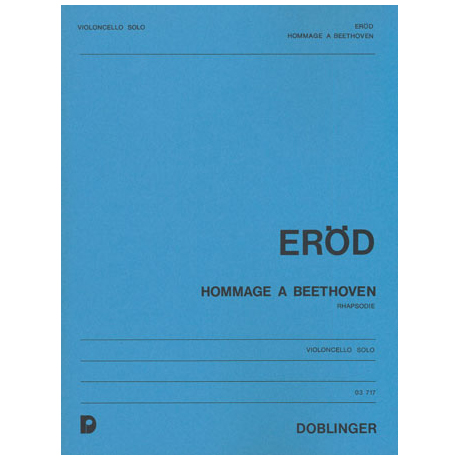 Eröd, I.: Hommage à Beethoven Op. 24