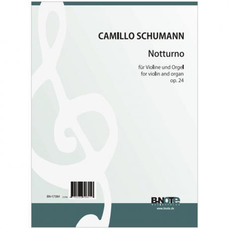 Schumann, C.: Notturno Op. 24