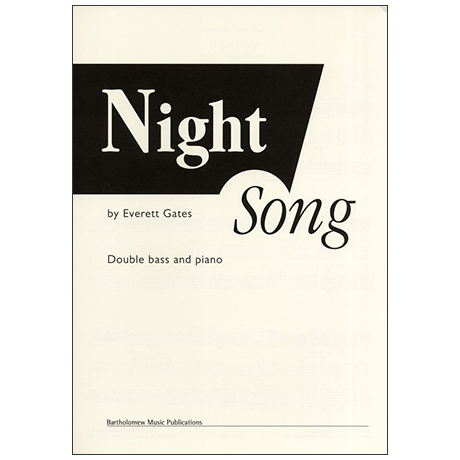 Gates, E.: Night Song