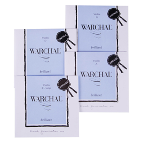WARCHAL Brilliant Vintage violin strings SET