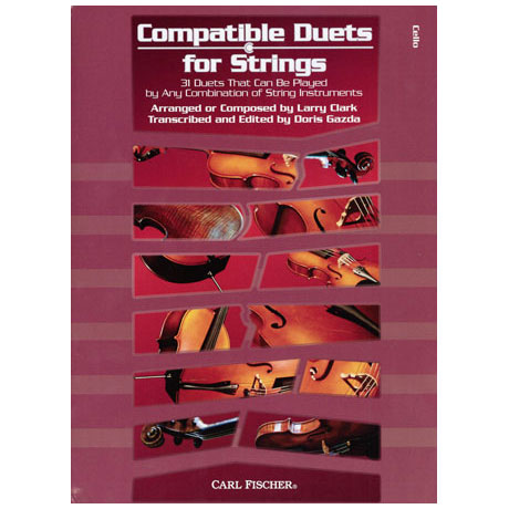 Compatible Duets for Strings Vol. I – Cello