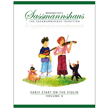 Sassmannshaus, E.: Early Start on the Violin Vol. 4
