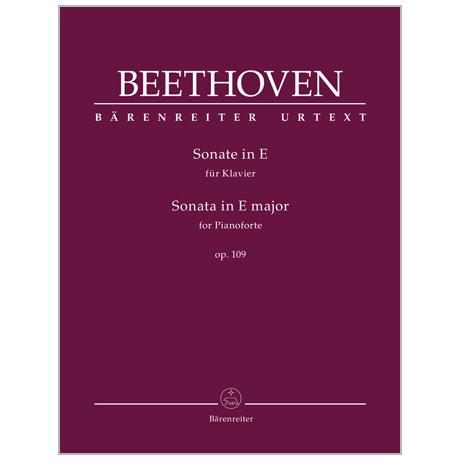 Beethoven, L. v.: Klaviersonate Op. 109 E-Dur