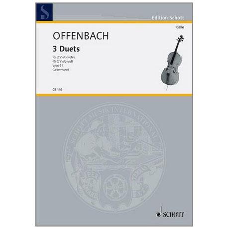 Offenbach, J.: 3 Duette Op. 51