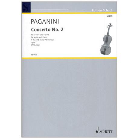 Paganini, N.: Violinkonzert Nr. 2 Op. 7 h-Moll