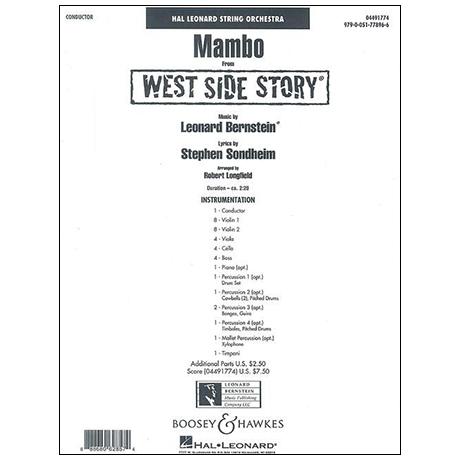 Bernstein, L.: Mambo aus »West Side Story« – Partitur