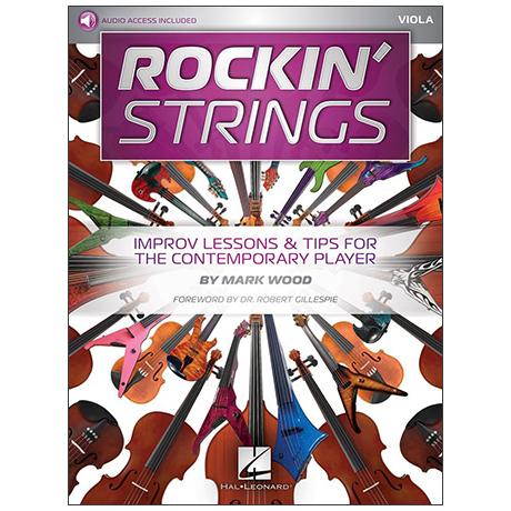Wood, M.: Rockin' Strings: Viola (+Online Audio)